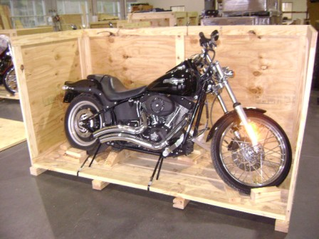 Motorcycle Wooden Crate
