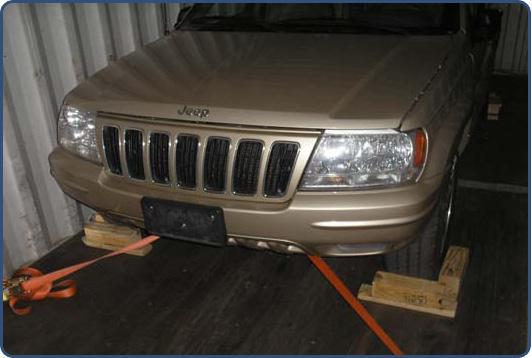 Secured Vehicle