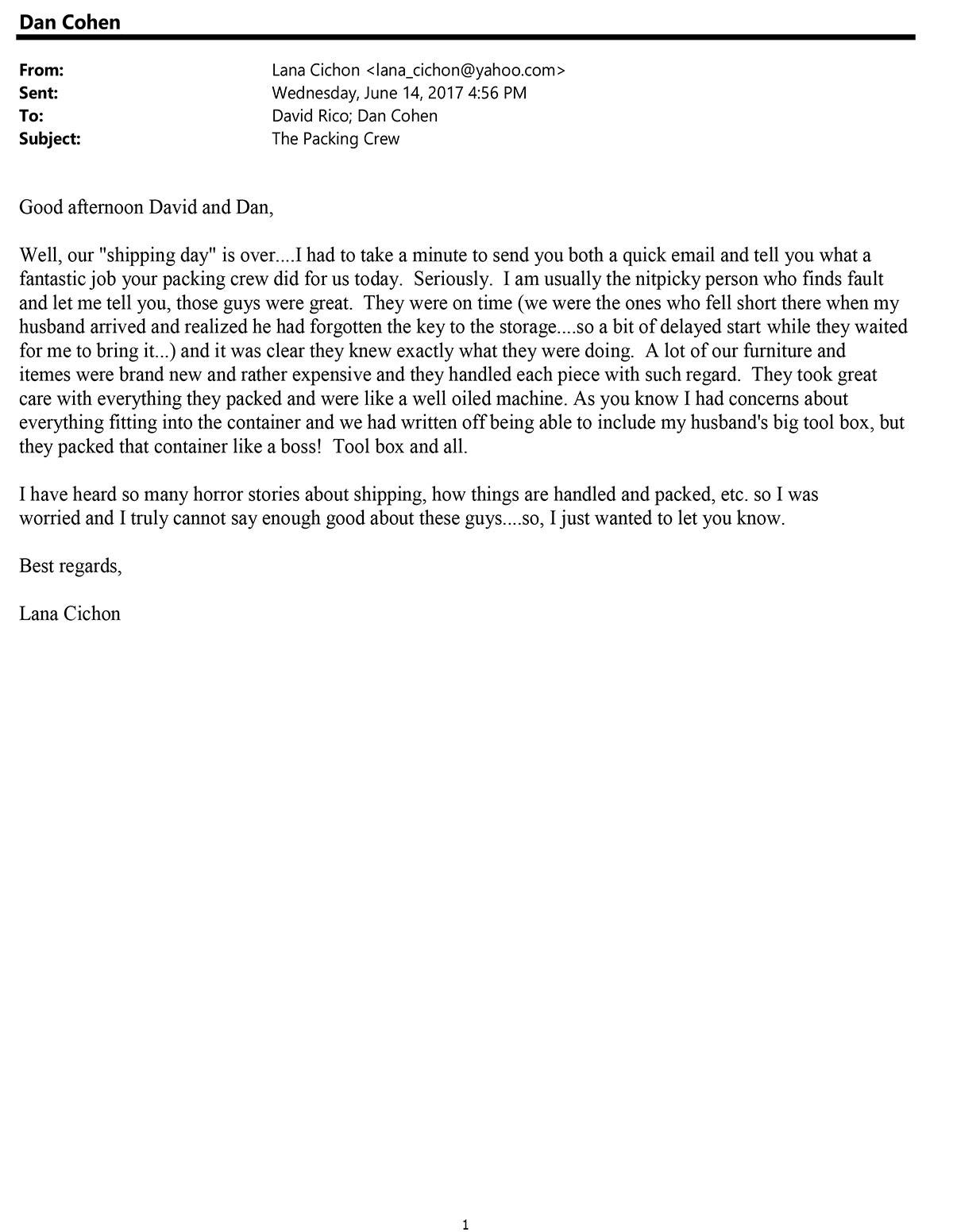 Testimonial 97 Lana Cichon